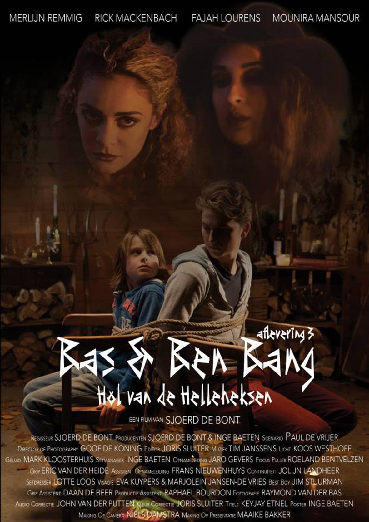 Filmposter 'Bas & Ben Bang'