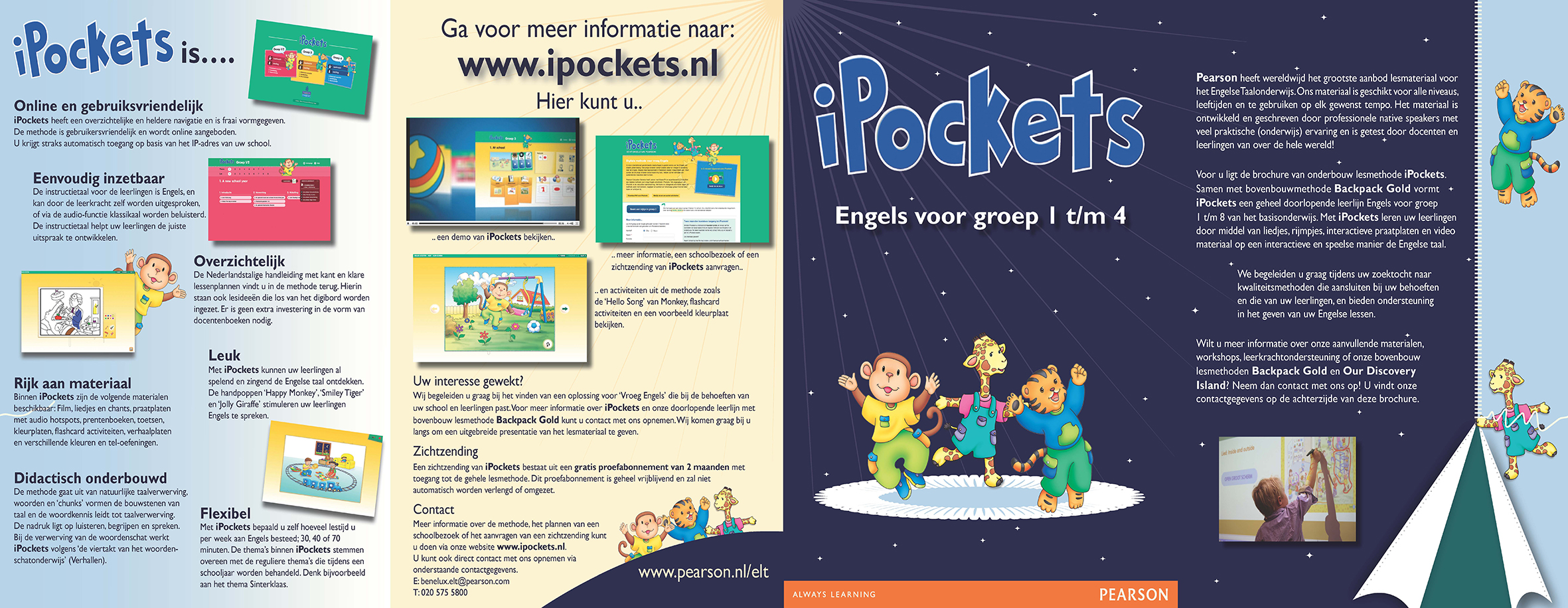 Pearson iPockets
