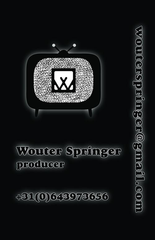 Visitekaartje Wouter Springer