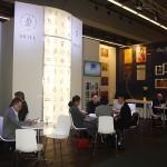 Stand uitgeverij Brill Frankfurt Buchmesse